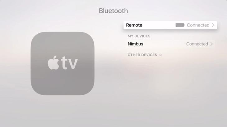 Apple TV Bluetooth
