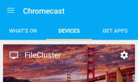 Chromecast Main