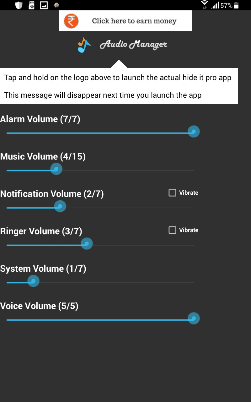 Audio manager (hide it pro) apk for android | androidapkclub.