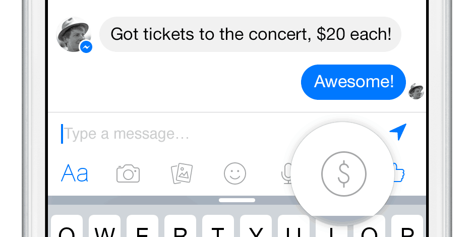 how to send a song on facebook messenger