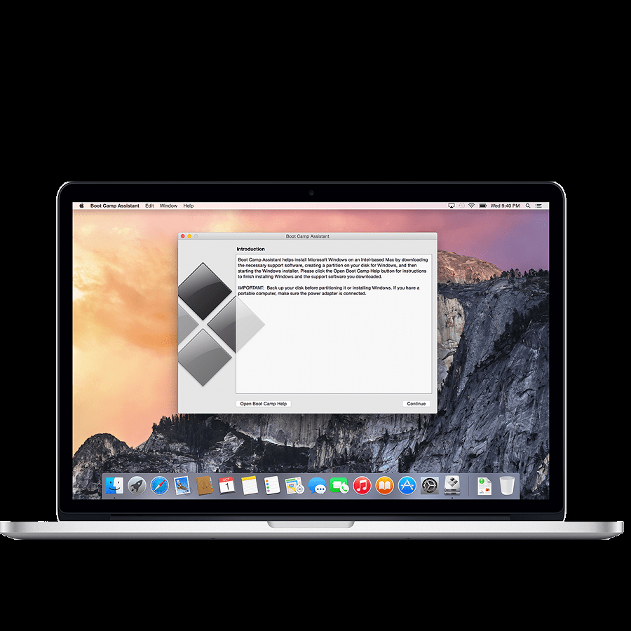 mac bootcamp assistant