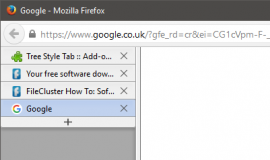 Firefox Tree Style Tabs