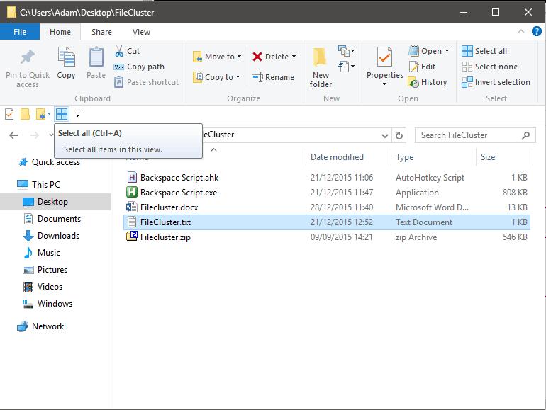 Quick Access Toolbar Below Ribbon
