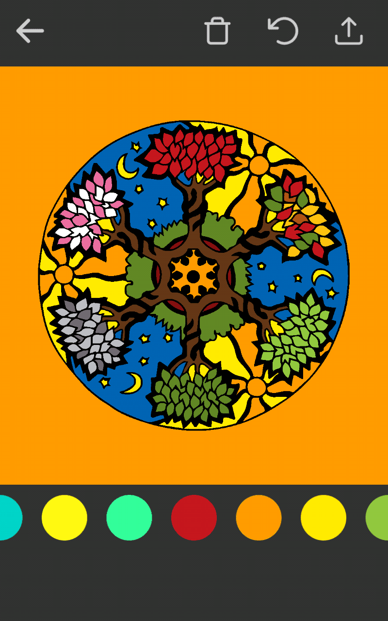 colordiary - Coloring Book App For Adults