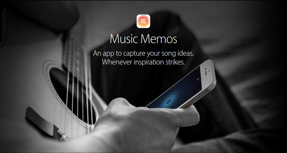 Music Memos by Apple Captures Your Chord Progressions On The Fly