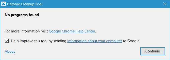 Chrome Cleanup Tool 2