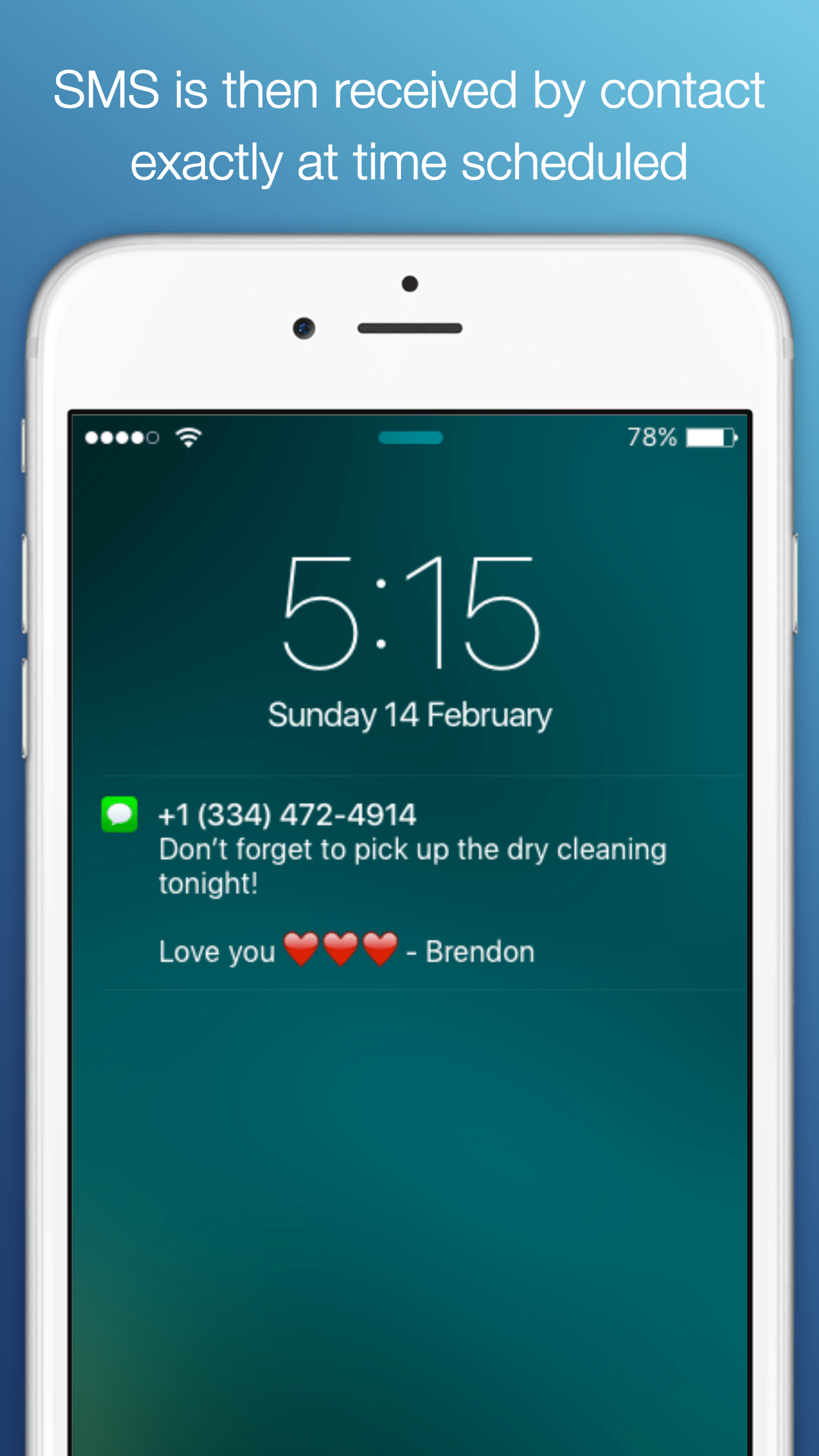 how to change the date on a text message iphone