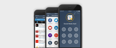 Manage and secure all your social media accounts in one app