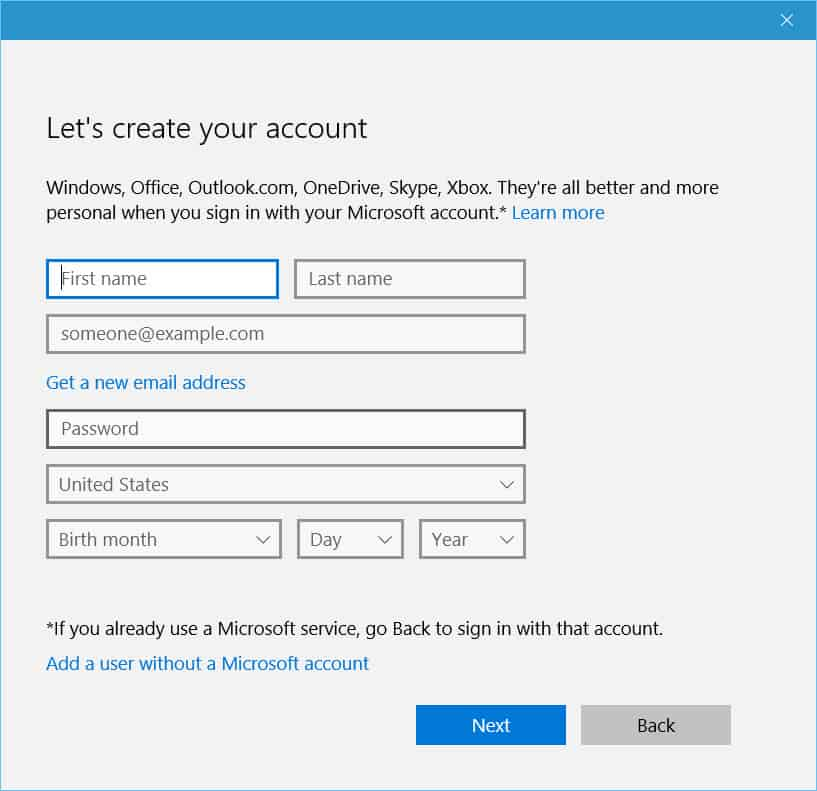 windows 10 how to find a file from another user