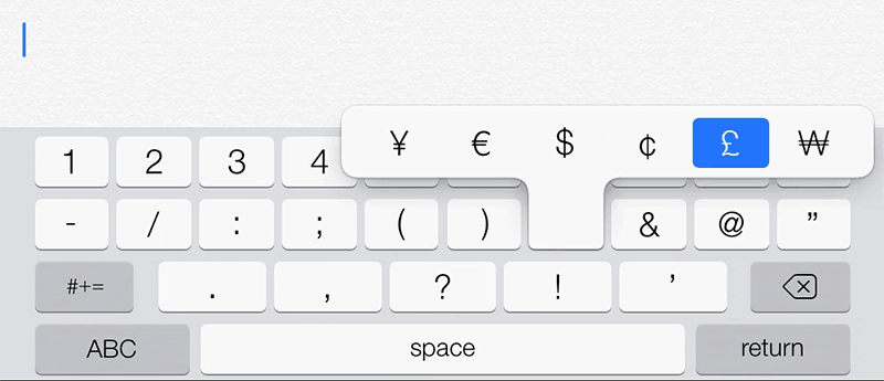 how to make yen symbol on keyboard