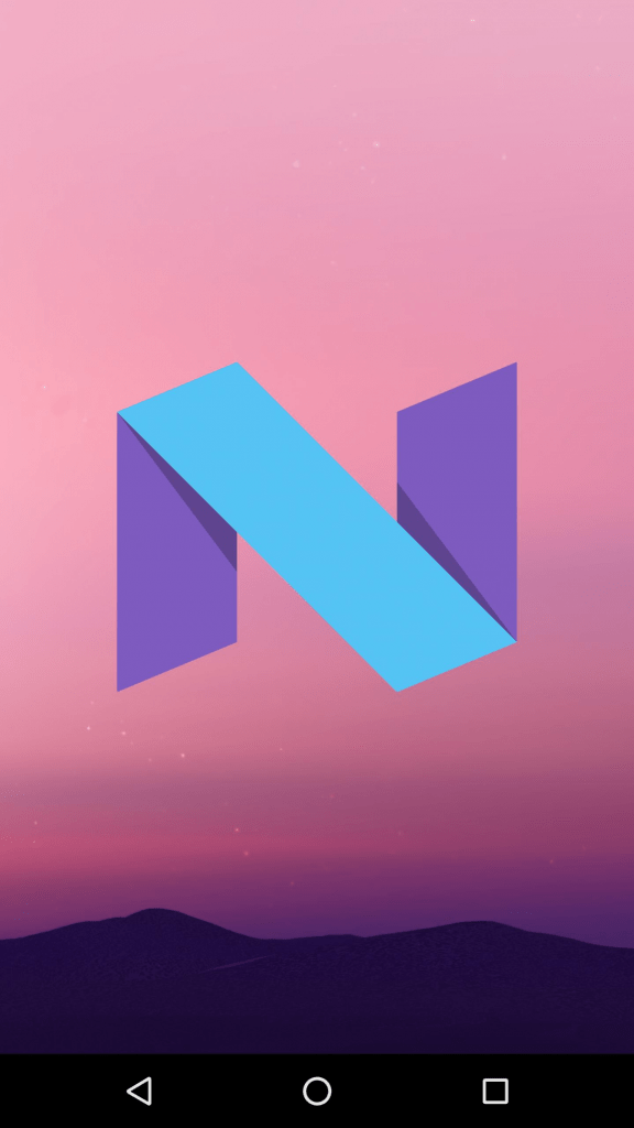 Android N home screen