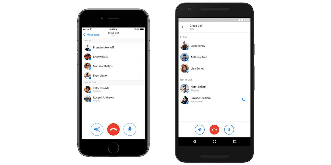 Facebook Messenger Now Lets You Participate In Group Calls