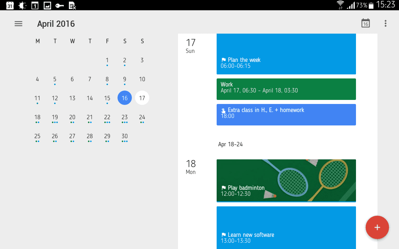 how to set up and use google calendar goals on ios and android
