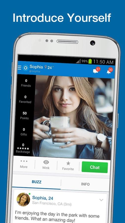 Friend finder dating app