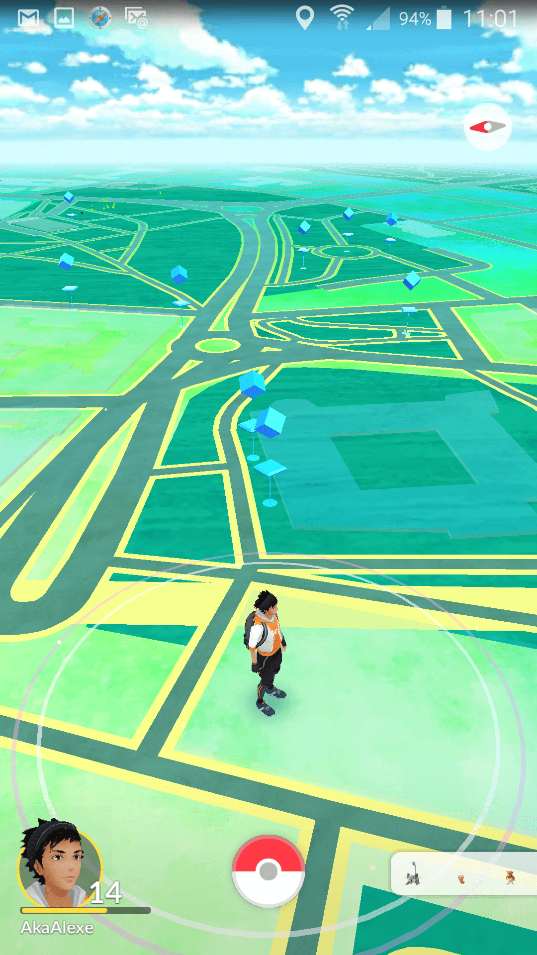 see how much you walked playing Pokémon Go
