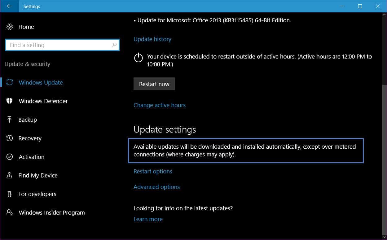 how to stop windows update download windows 10