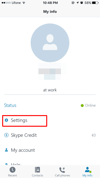 stop Skype calls from appearing in iOS 10 Phone app
