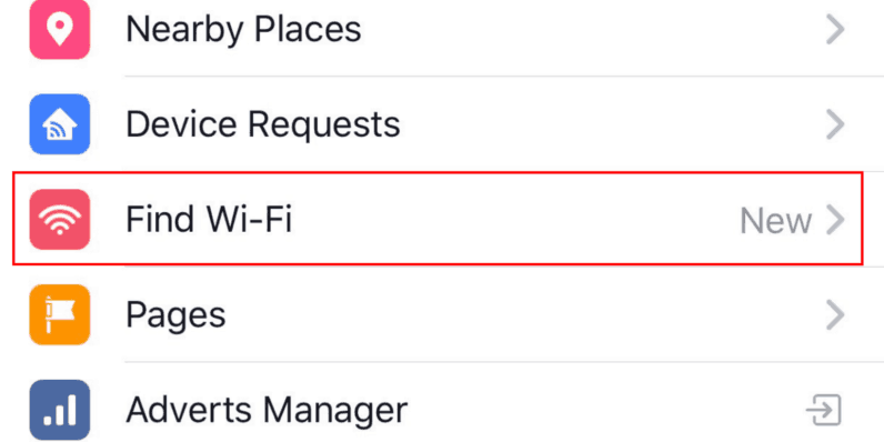 Find free Wi-Fi hotspots nearby with new Facebook feature