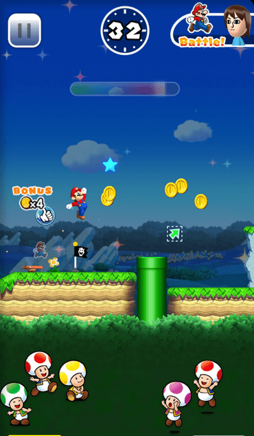 Play Super Mario Run on iPhone