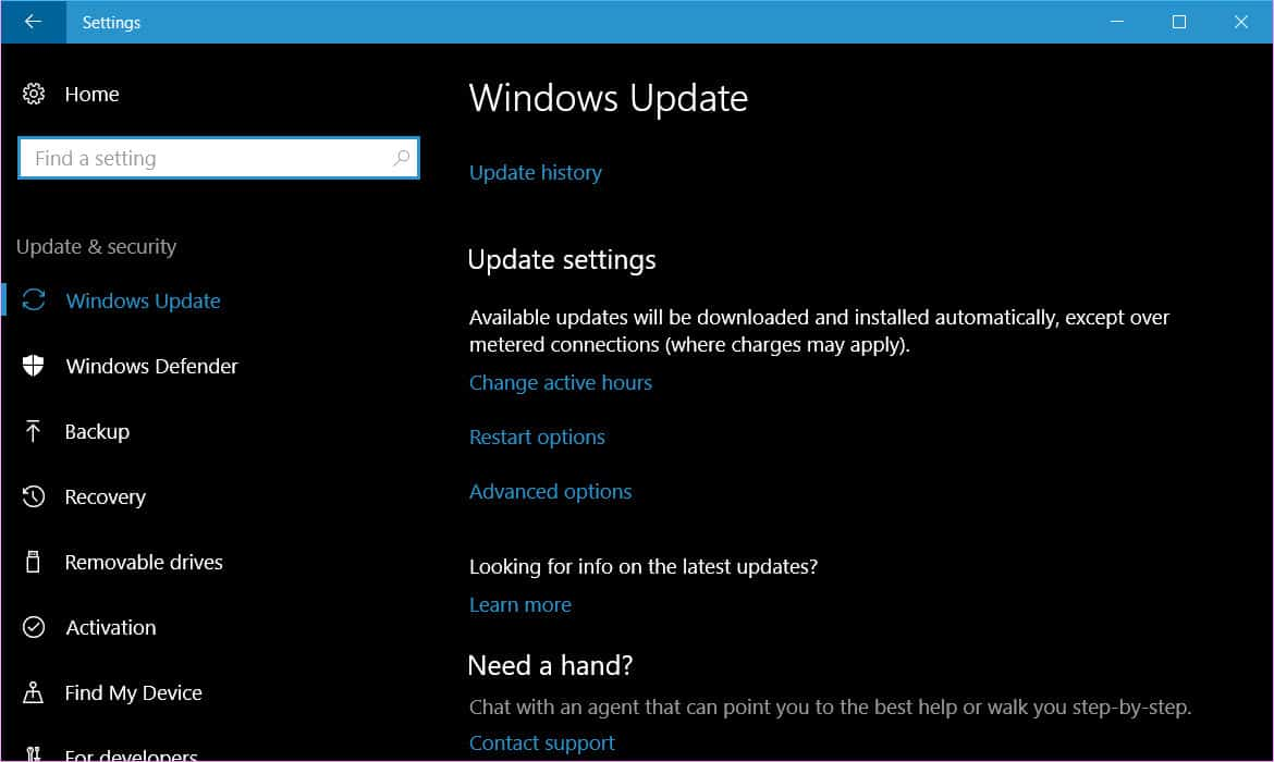 How to delay feature and quality updates in windows 10 for Quality windows