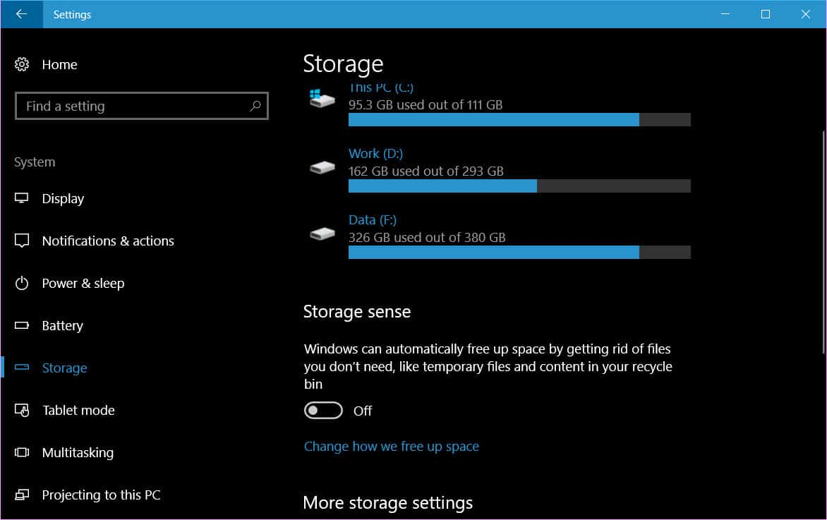 clean up Downloads folder automatically in Windows 10