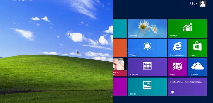 how to make windows 7 look like windows xp