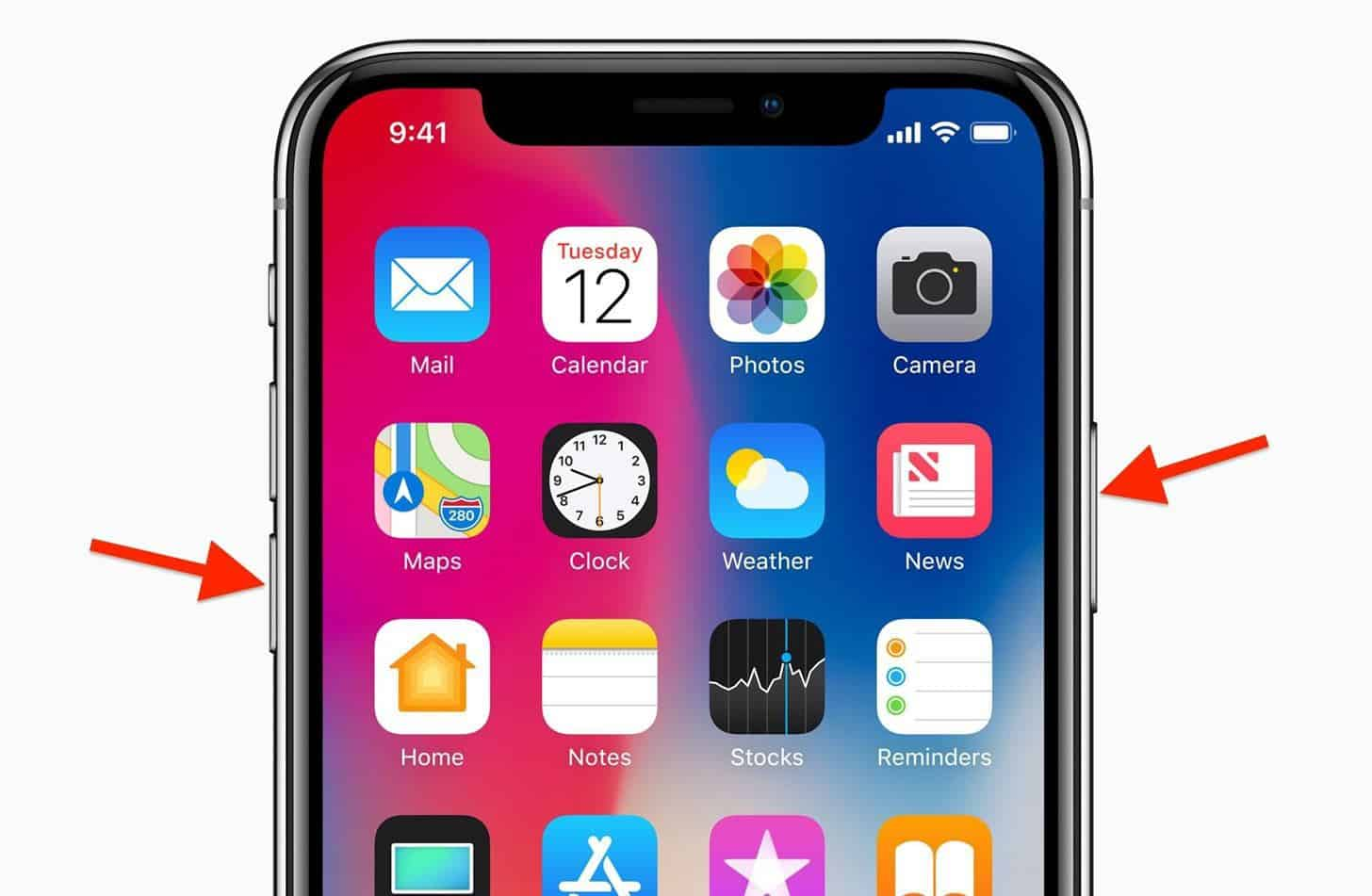 how to force restart the iPhone X