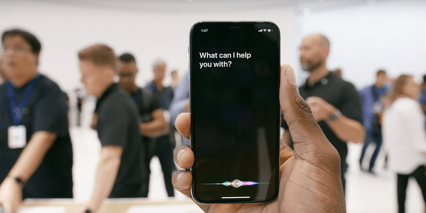 Activate Siri on the iPhone X
