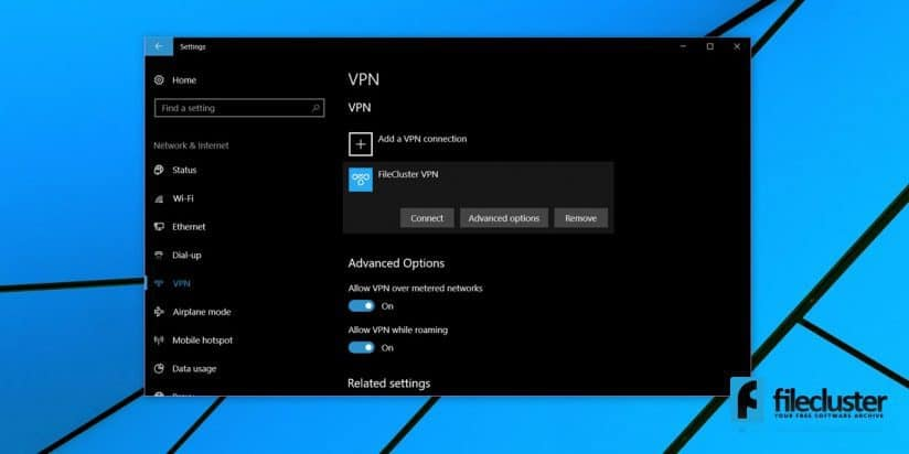 how to set up network share on windows 10
