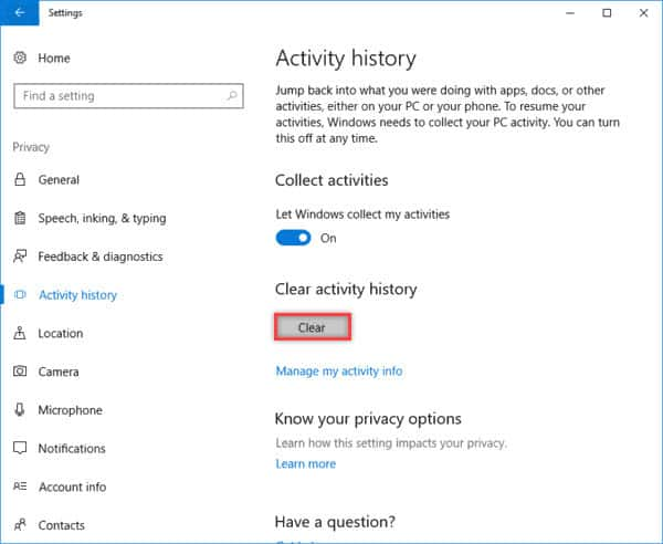 how to clear vlc history in windows 10