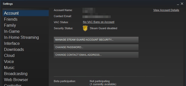 how to get steam authentication