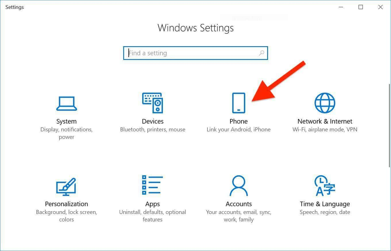 connect your phone to your Windows PC