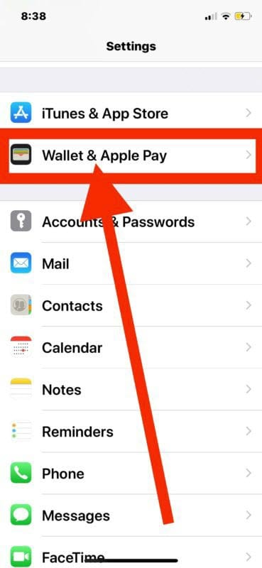 disable Apple Pay side button access on your iPhone X