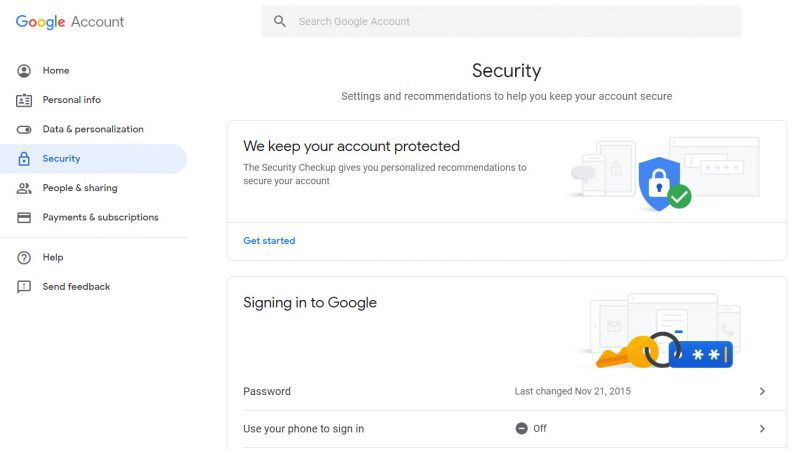 enable two-factor authentication for Gmail