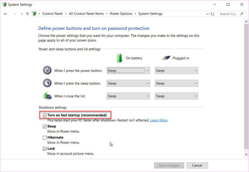 speed up Windows 10 boot time