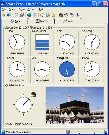 Salaat Time Screenshot