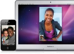 Apple Facetime for Mac Screenshot