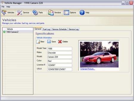 Vehicle Manager Fleet Network Edition Screenshot