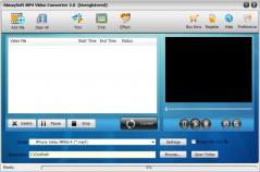 Aiwaysoft MP4 Video Converter Screenshot