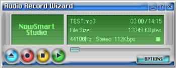 Audio Record Wizard Screenshot