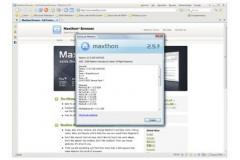 Portable Maxthon Browser Screenshot