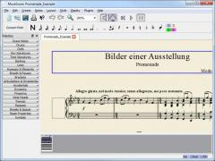 Portable MuseScore Screenshot