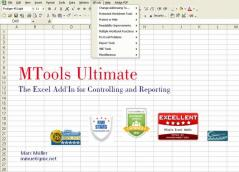 MTools Ultimate Excel Plug-In Screenshot