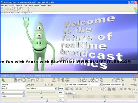 BluffTitler DX9 Screenshot