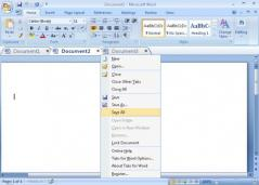 Tabs for Word 64bit Screenshot
