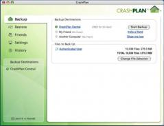 CrashPlan PRO Screenshot