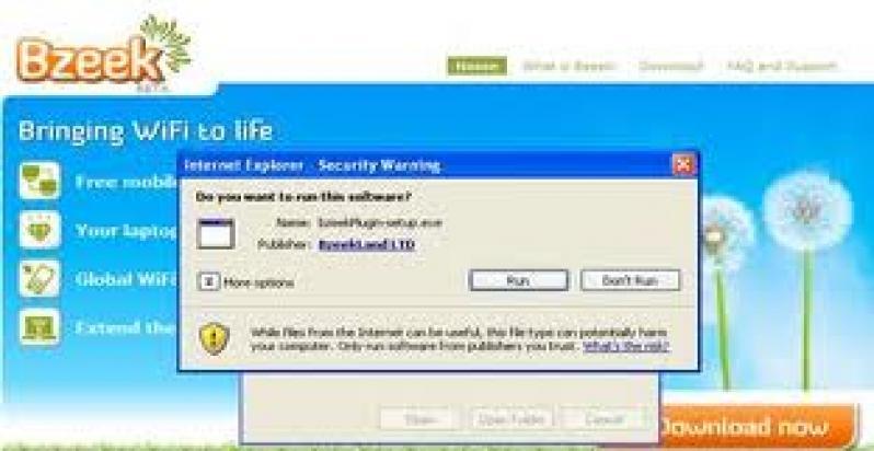 bzeek free wifi