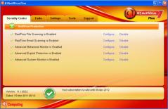 K7 AntiVirus Plus Screenshot