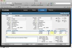 FileMaker Pro Screenshot