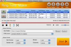 AimOne Ringtone Maker for Mac Screenshot
